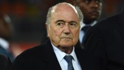 Blatter se mostró sorprendido por las declaraciones de tinte racista de...