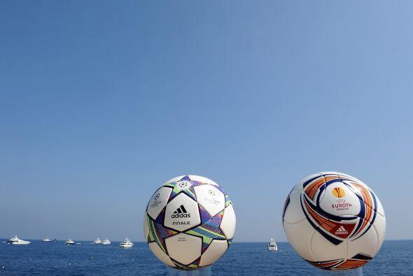 Además, se mostró el balón para la Liga Europa, el...