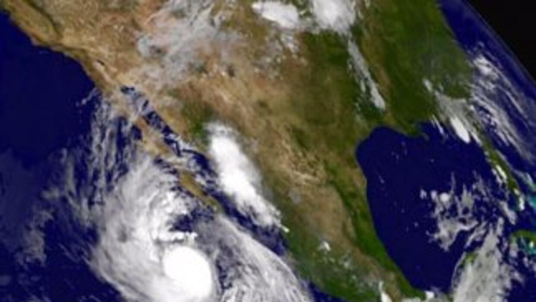 El hucarán Linda, frente a las costas de México. (NASA)
