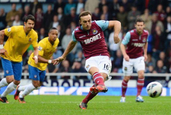 Al final Westa Ham ganó por 4-1 y está en puestos europeos.