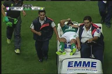 Miguel Sabah se desvaneció en pleno juego de Copa MX entre Monterrey y León
