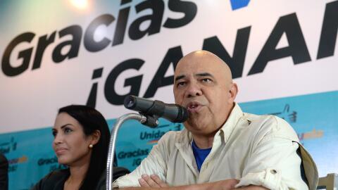 Secretario de la coalición de partidos opositores, Jesús Torrealba