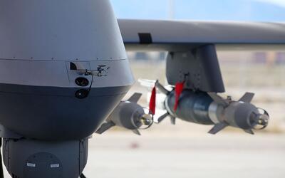 Bombas inteligentes montadas en aviones no tripulados de EEUU