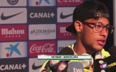 """Neymar: """"La primera Liga de muchas que vendrán"""""""