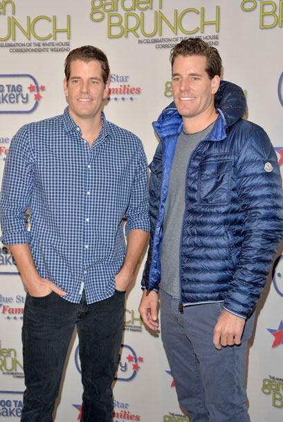 Le siguen en la lista los gemelos Tyler y Cameron Winklevoss. Mira aqu&i...