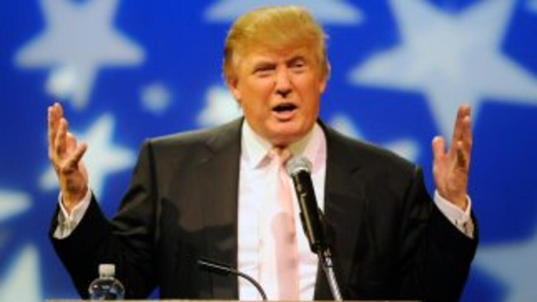 Donald Trump, el millonario que conduce un programa de telerealidad.