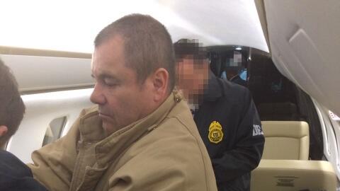 El Chapo' se vio cara a cara con un juez en una corte federal de Nueva York