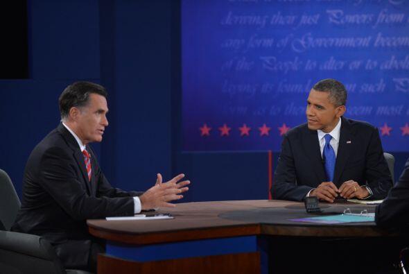 Durante el encuentro, ambos candidatos se desviaron de la temática de po...