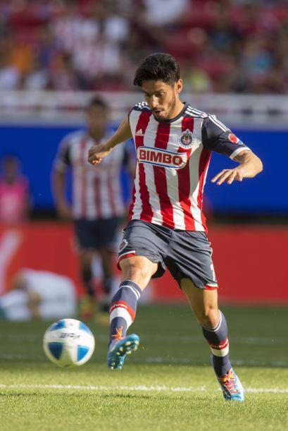 Rafael Márquez (Entró al 68') (7).- El delantero del Guadalajara, entró...