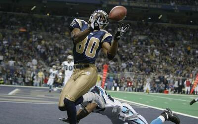 7.- Isaac Bruce (1994-2007 Rams, 2008-09 49ers).- 1,024 recepciones.