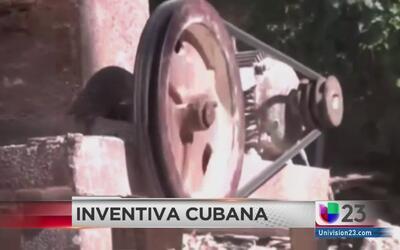 Cubanos muestran inventiva a pesar de carencias