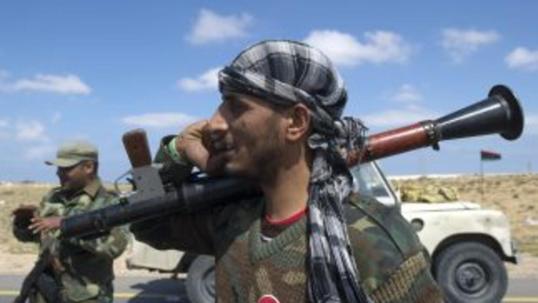 En Misrata, como en el este del país bajo dominio de los insurgentes, la...