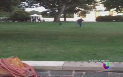 Un hombre burló la seguridad en la Casa Blanca
