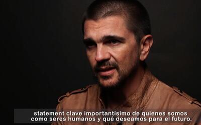 """Juanes: """"la música cumple un papel importante en la construcción de la paz"""""""