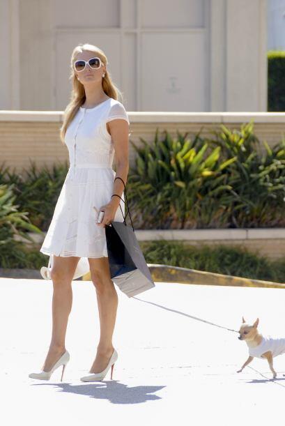 Paris Hilton no podía faltar en esta lista de chicas víctimas de la moda...