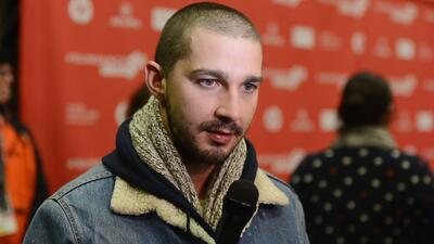 Shia LaBeouf se puso agresivo en un bar