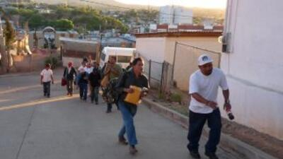 El inmigrante mexicano Salvador Jiménez no pierde la esperanza de vivir...