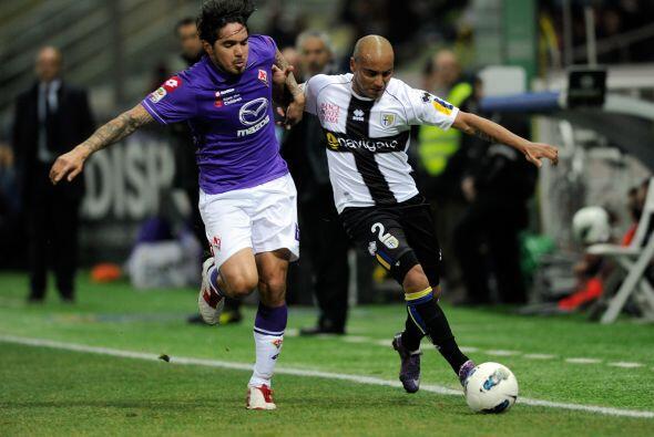 En el otro juego de entre-semana, Parma y Fiorentina también qued...