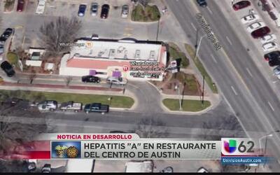 Autoridades alertan por contagio de hepatitis en un restaurante del cent...