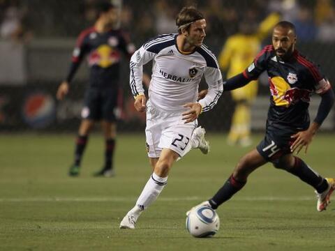 El Galaxy de David Beckham y el Red Bulls de Thierry Henry.