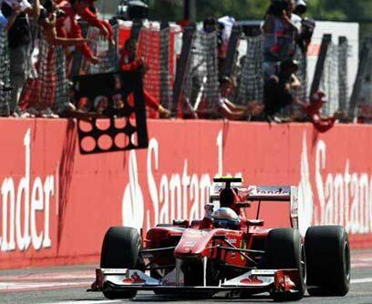 GP de ITALIA, 12 de septiembreFernando Alonso ganó el Gran Premio...
