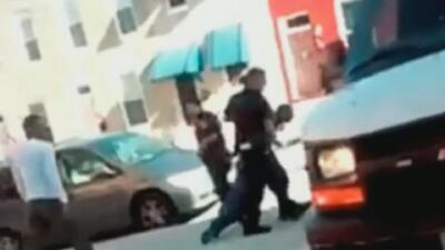 Video del arresto de Freddie Gray