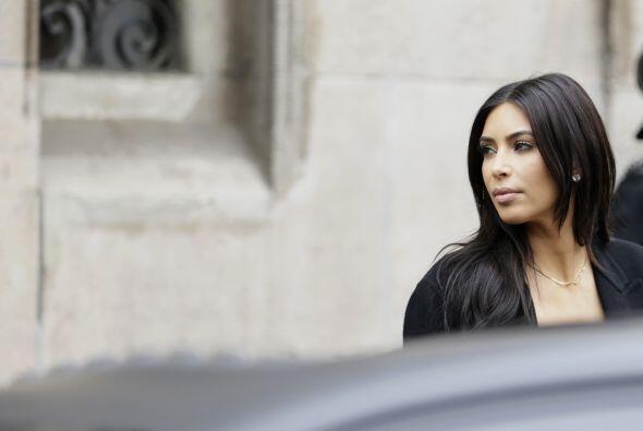 Kim, Kanye, North y todo el clan Kardashian invadieron las calles de Par...
