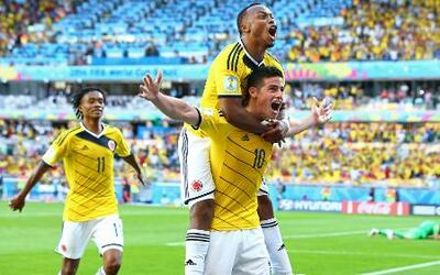 Colombia cumple con una lluvia de goles en Brasil