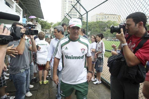 Murcy Ramalho es el entrenador del Fluminense cuya etapa de preparación...
