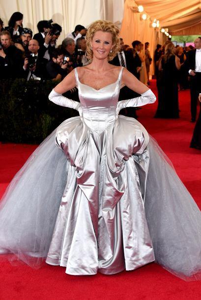 A Sandra Lee se le perdió el cuento de las princiesas durante la gala de...
