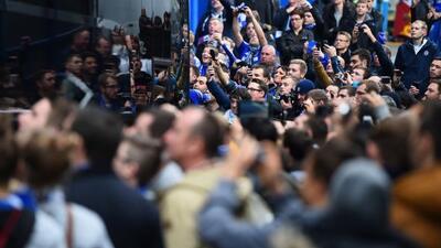Tres personas fueron vetadas de Stamford Bridge tras los actoas racistas...