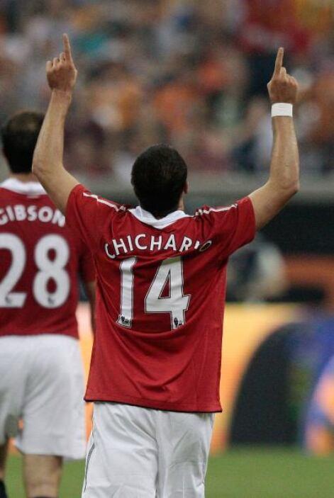 """Y qué podemos decir de Javier """"Chicharito"""" Hernández, el delantero mexic..."""