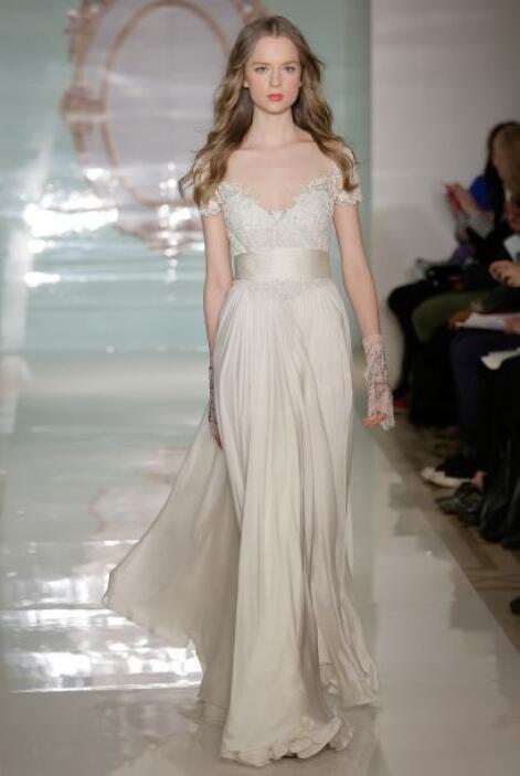 Aquí los mejores modelos de la diseñadora Reem Acra.