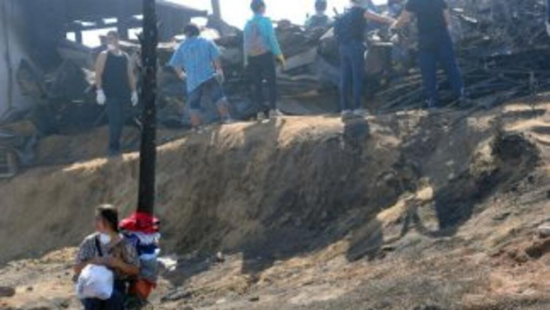 Autoridades de Chile declararon alerta temprana como medida preventiva c...