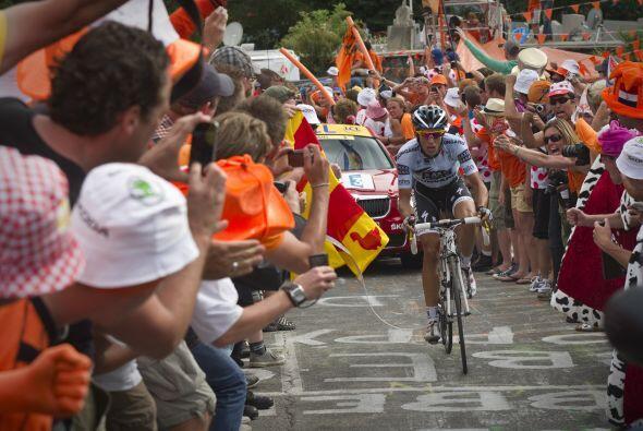 El ciclista madrileño firmó una destacada actuación con un ataque de esc...