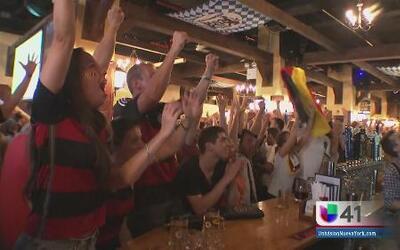 Alemanes gozan del triunfo desde NY