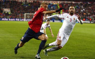 Noruega no pudo en casa ante Hungría