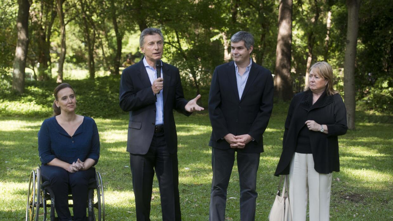 La encargada de responder a Cristina Fernández de Kirchner fue la vicepr...