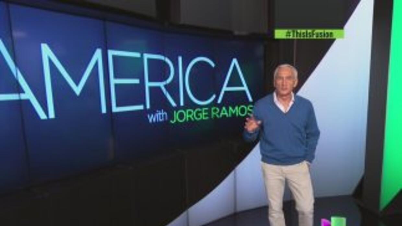 América, el nuevo programa de Jorge Ramos en inglés