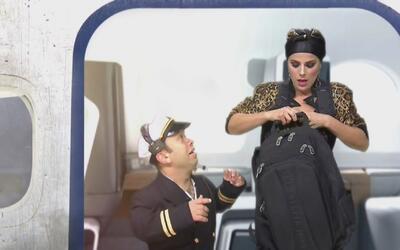La sexy María Fernanda Yepes de 'La Piloto' casi mata de susto a Carlito...