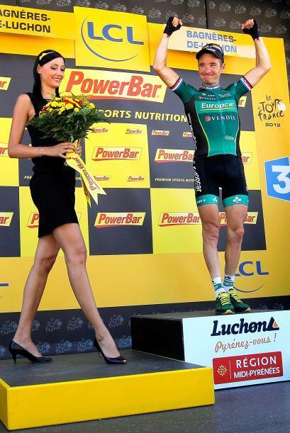 Se impuso en la etapa reina del Tour de Francia con grandeza, pasando po...