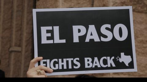 Líderes de El Paso se han comprometido a intentar detener la ley...