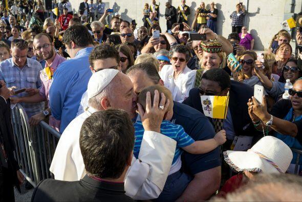 Los niños, los privilegiados por el Papa.
