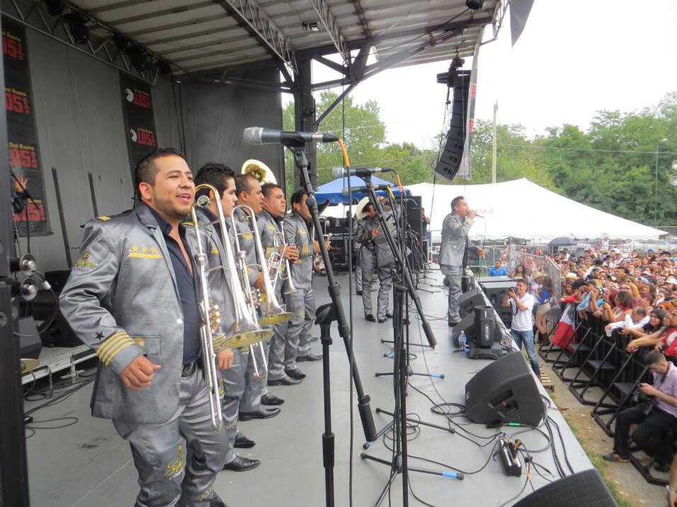 La Séptima Banda conquistó  el escenario de Fiestas Patrias 2015 en Chic...