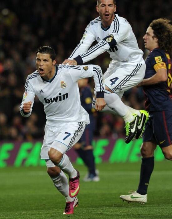 El Real Madrid se adelantaba en el marcador y la eliminatoria.