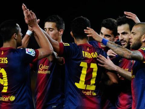 El Barcelona recibió al Mallorca con un equipo de suplentes, sin...