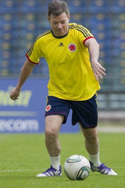 Este jugador que ve con el uniforme de la selección Colombia no e...