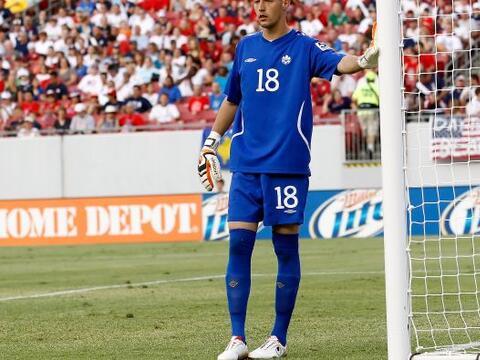 Milan Borjan nació en Cirillic, Serbia, en 1987, pero representa a Canad...