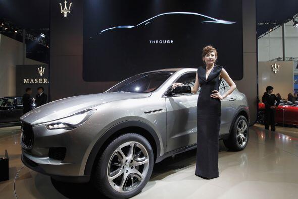 La Maserati Kubang debutó en el mercado chino que es uno de los más impo...