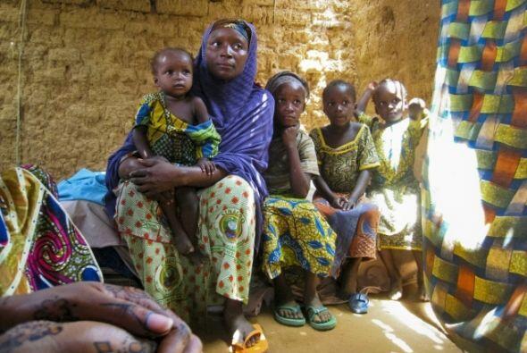 Al igual que millones de mujeres en el África subsahariana, Sadi no sabí...